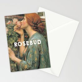 The Soul of the Rose (1908), John William Waterhouse // Citizen Kane (1941), Orson Welles Stationery Cards
