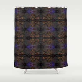 Grodie Skulls Shower Curtain