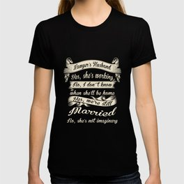 Funny Novelty Gift For Lawyer Lawyer's Husband T-shirt