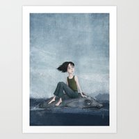 journey Art Prints featuring Journey by Sona
