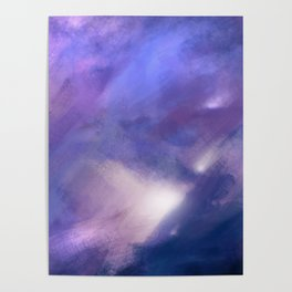 Innocence (Remembering life before the hurt) | Abstract Painting Poster