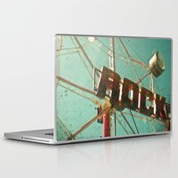 rock and roll Laptop & iPad Skins featuring Rock and Roll by Cassia Beck