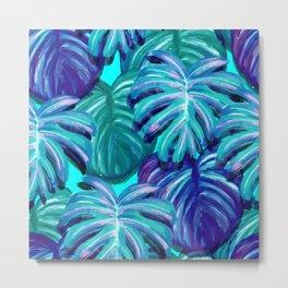 Palm leaves Metal Print