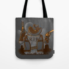 Tombstoned Tote Bag