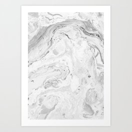 Set In Stone No. 1 Art Print