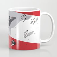 political Mugs featuring Historical Political Figure by Pier Antonio Zanini