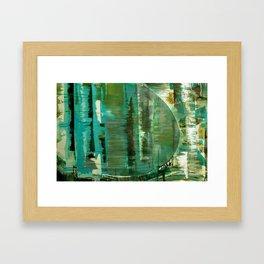 Barriers Framed Art Print