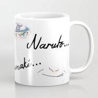 naruto Mugs featuring Naruto Uzumaki by rosalia