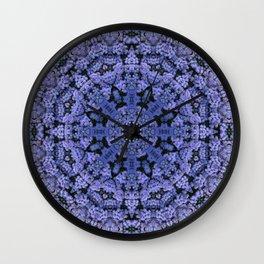 Flower Clock Wall Clock
