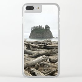 Pacific North West Shores - Olympic National Park Clear iPhone Case