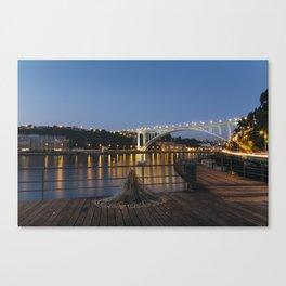 Arrabida bridge (IV) Canvas Print