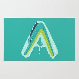 A for Alligator Rug