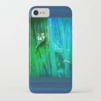 psychadelic iPhone & iPod Cases featuring Psychadelic Seahorse by Heidi Fairwood
