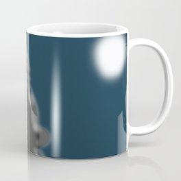 Santa Silhouette Coffee Mug