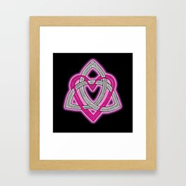 Heart of God Framed Art Print