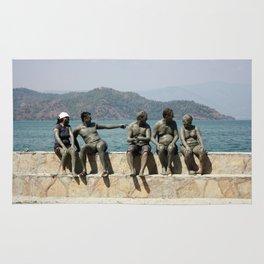 People Taking A Mudbath - Sultaniye, Turkey Rug