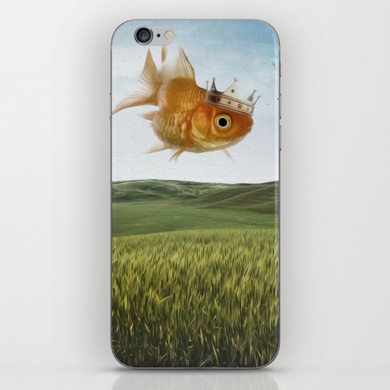 king fish iPhone & iPod Skin