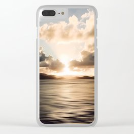 The light beckons Clear iPhone Case