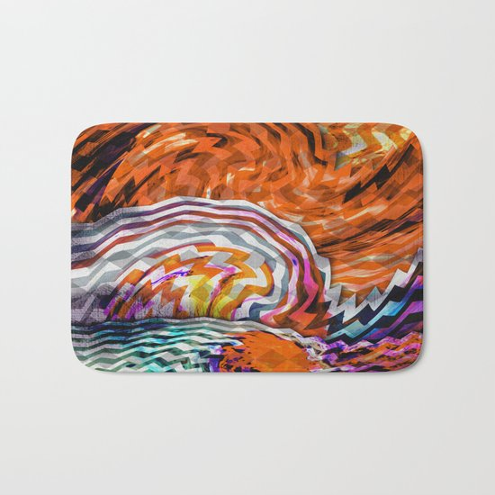 the moon effect Bath Mat