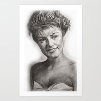 laura palmer Art Prints featuring TWIN PEAKS - LAURA PALMER by William Wong