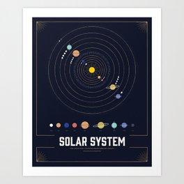 Solar System Art Prints Society6