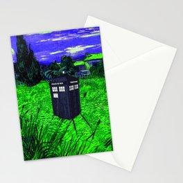 amazing tardis Stationery Cards
