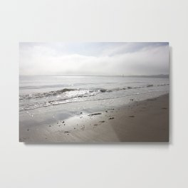 Broughty Ferry beach 5 Metal Print