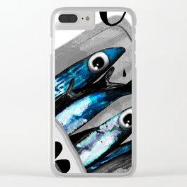 Sardinen Clear iPhone Case
