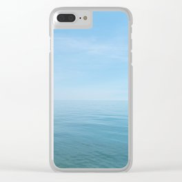 lake days Clear iPhone Case