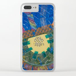 Humanitas 3 Clear iPhone Case