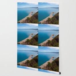 White Lagoon of Tindari on the Isle of Sicily Wallpaper