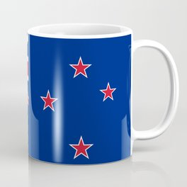 National flag of New Zealand - Authentic version to scale and color Coffee Mug