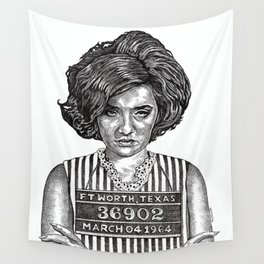 Big Hair Texas Trouble Wall Tapestry