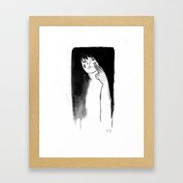 Fighting. Always. Framed Art Print
