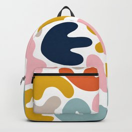 Blob Collage - Multi Backpack