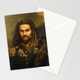 Jason Momoa - replaceface Stationery Cards