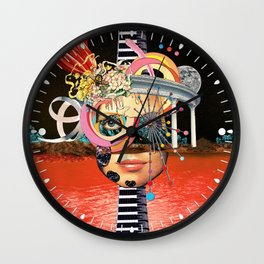 All About Perspective Wall Clock