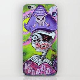 Pirate Voodoo iPhone Skin
