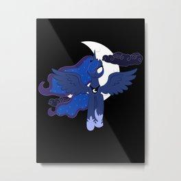 Princess Luna Metal Print