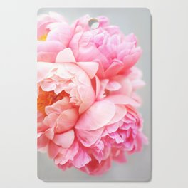 Peonies Forever Cutting Board
