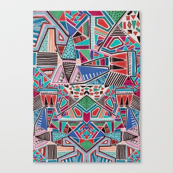 JAMBOREE M O T I F Canvas Print