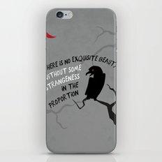Beauty by Poe iPhone & iPod Skin