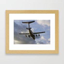 Landing Approach  Framed Art Print