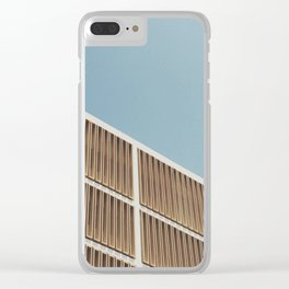 Brutalist Baby Clear iPhone Case