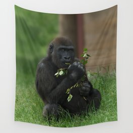 Cheeky Gorilla Lope Wall Tapestry