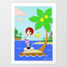 The Islander Art Print