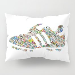 Philately Copa Mundial Soccer Cleats Pillow Sham