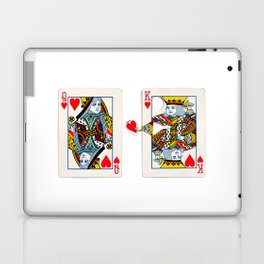The King knows what the heart wants. Laptop & iPad Skin
