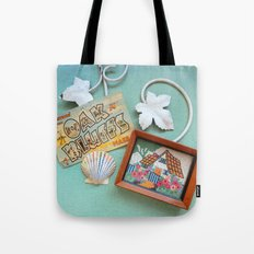 Greetings from Oak Bluffs Tote Bag