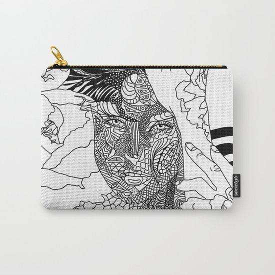 Inked Parisian Carry-All Pouch